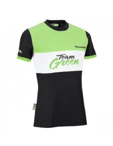 T-Shirt femme Kawasaki Team Green | Devant