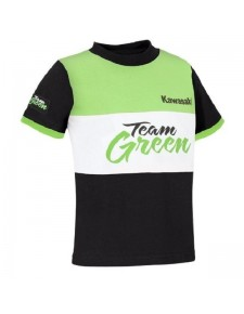 T-Shirt enfant Kawasaki Team Green | Devant