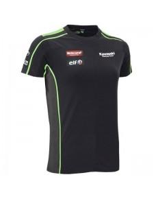 T-Shirt femme Kawasaki Racing Team SBK Replica | Devant
