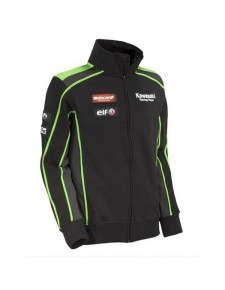 Sweat zippé homme Kawasaki Racing Team SBK Replica | Devant