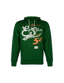 "Sweat-shirt homme à capuche Kawasaki ""Speed 52"" 