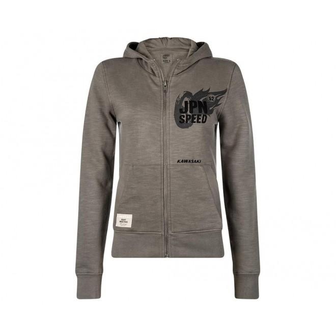 buy cheap online for sale beauty Sweat-shirt femme zippé à capuche Kawasaki JPN Speed | Moto Shop 35