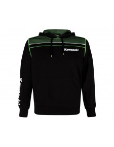 Sweat-shirt homme à capuche Kawasaki Sports | Devant