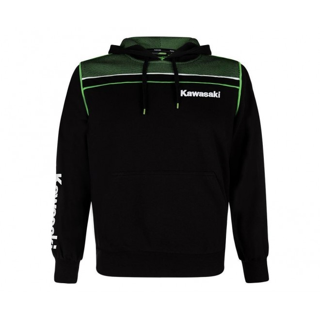 Sweat shirt homme à capuche Kawasaki Sports | Moto Shop 35
