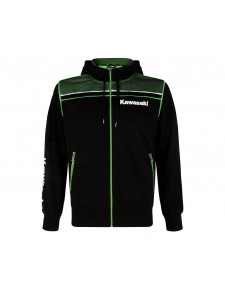 Sweat-shirt homme zippé à capuche Kawasaki Sports | Devant