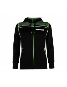 Sweat zippé à capuche Kawasaki Sports