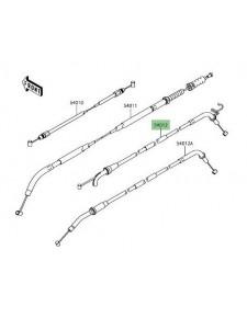 Câble ouverture gaz Kawasaki Z900 | Réf. : 540120646