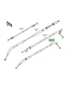 Câble fermeture gaz Kawasaki Z900 (2017 et +) | Réf. : 540120647
