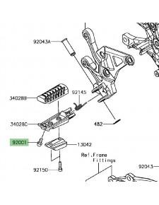 Téton repose-pieds Kawasaki Z900 | Réf. 920011905