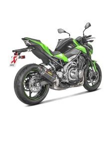 Échappement Akrapovic carbone Kawasaki Z900 (2017-2019) | Réf. 258EXP0086