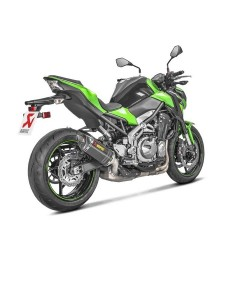 Échappement Akrapovic carbone Kawasaki Z900 (2017 et +) | Réf. 258EXP0086