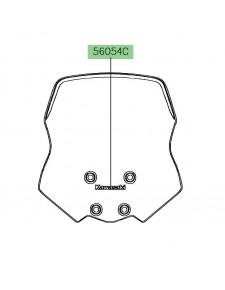 """Autocollant """"Kawasaki"""" saute-vent   Kawasaki Versys-X 300 (2017-)"""