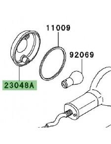Cabochon clignotants avant Kawasaki W800 (2011-2016) | Réf. 230481066