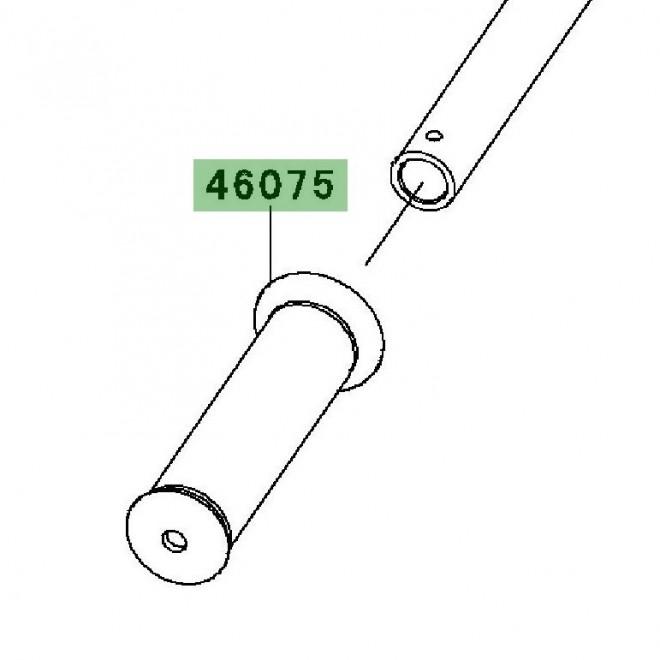Poignée caoutchouc gauche | Kawasaki W800 (2011-2016)