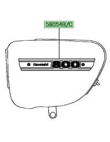 "Autocollant ""800"" cache latéral | Kawasaki W800 ""Final Edition"" 2016"