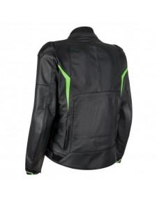 Blouson cuir Tourer Kawasaki High Tech | Dos