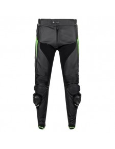 Pantalon cuir Tourer homme Kawasaki High Tech | Devant