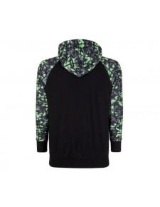 Sweat-shirt zippé homme à capuche Kawasaki K-Mouflage | Dos