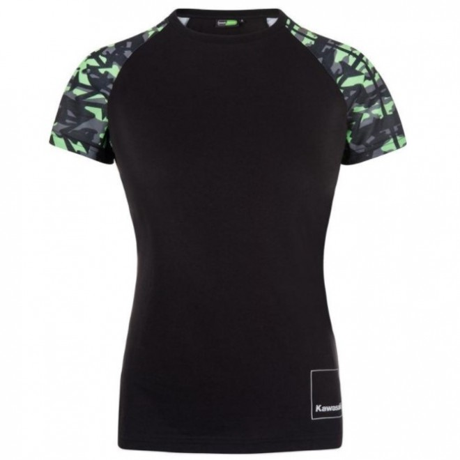 T-Shirt femme Kawasaki K-Mouflage | Devant