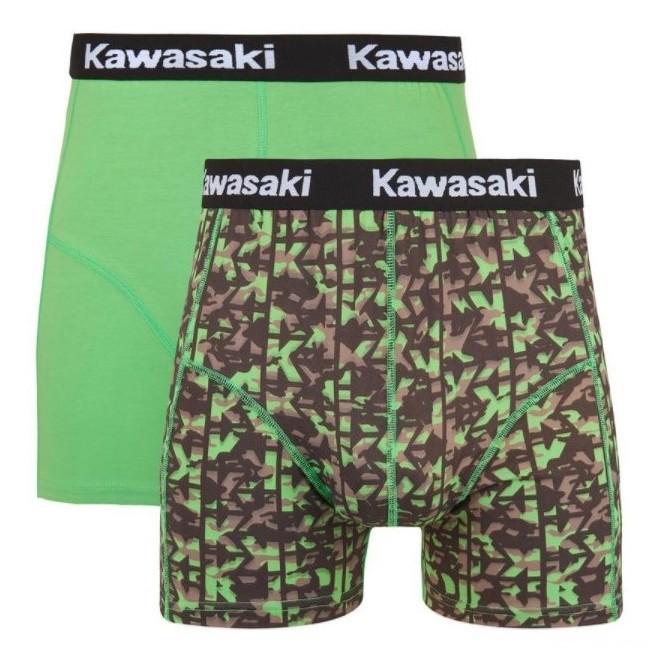 "Caleçons ""Boxer"" homme Kawasaki K-Mouflage   Devant"
