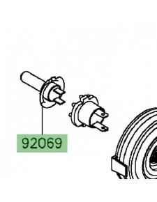 Ampoule H7 (12V/55W) optique avant Kawasaki Z800 (2013-2016) | Réf. 920690053