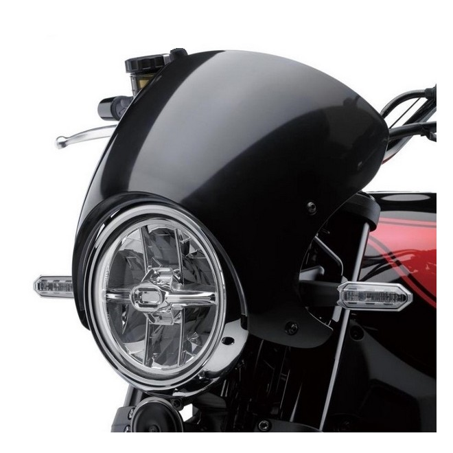 bulle de protection fum e caf racer kawasaki z900rs. Black Bedroom Furniture Sets. Home Design Ideas