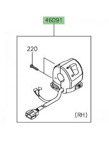 Commodo droit Kawasaki Ninja 650 | Réf.  460910336