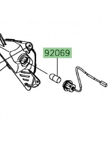 Ampoule clignotants avant Kawasaki Ninja 650 | Réf. 920690058