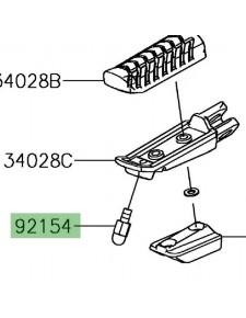 Téton repose-pieds Kawasaki Ninja 650 | Réf. 921540838