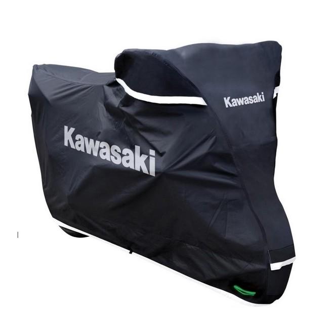 housse de protection ext rieur kawasaki premium moto shop 35. Black Bedroom Furniture Sets. Home Design Ideas