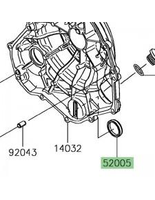 Hublot carter d'embrayage Kawasaki Ninja 650 | Réf. 520050071