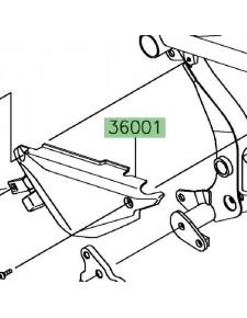 Cache sous selle gauche Kawasaki Ninja 650 | Réf. 360010642