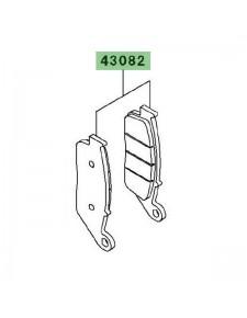 Plaquettes de frein avant Kawasaki Z750 (2007-2012) | Réf. 430820079