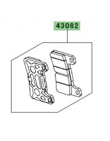 Plaquettes de frein avant Kawasaki Z1000 (2010-2013) | Réf. 430820113