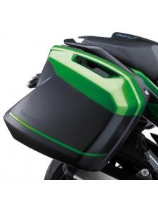 Liserés de valises  Verts Emerald Blazed Kawasaki Ninja H2 SX (2018 et +) | Réf. 99994042360R