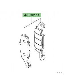 Plaquettes de frein avant Kawasaki Er-6f ABS (2009-2011) | Moto Shop 35