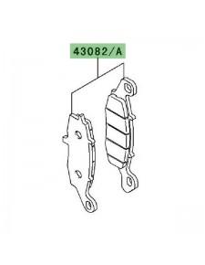 Plaquettes de frein avant Kawasaki Versys 650 (2007-2009) | Moto Shop 35