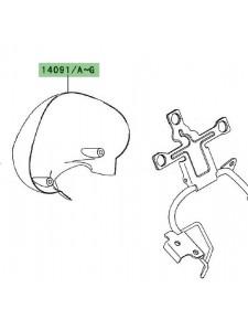Cuvelage de compteur peint Kawasaki Er-6n (2006-2008) | Moto Shop 35
