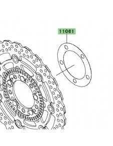 Joint disque de frein avant Kawasaki Er-6n ABS (2006-2008) | Réf. 110610201