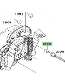 Veilleuse optique avant Kawasaki Er-6n (2006-2008) | Réf. 920691016