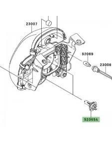 Ampoule H7 optique avant Kawasaki Er-6n (2006-2008) | Réf. 920690053