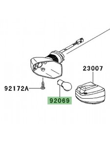 Ampoule clignotants arrière Kawasaki Er-6n (2006-2008) | Réf. 920691125