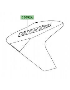 "Autocollant ""Er-6n"" écope Kawasaki Er-6n (2006-2008) | Moto Shop 35"