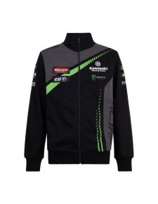 Sweat-shirt zippé homme Kawasaki Racing Team WorldSBK | Devant