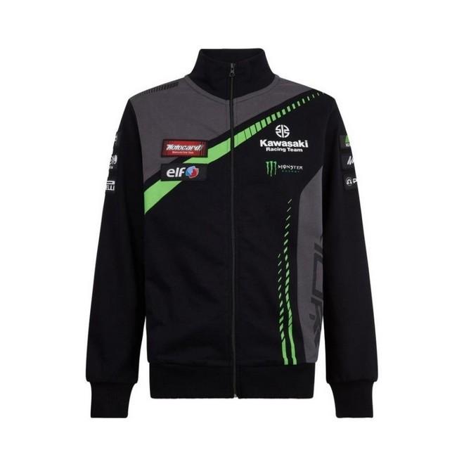Sweat-shirt zippé homme Kawasaki Racing Team WorldSBK | Devant