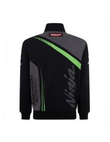 Sweat-shirt zippé homme Kawasaki Racing Team WorldSBK | Dos