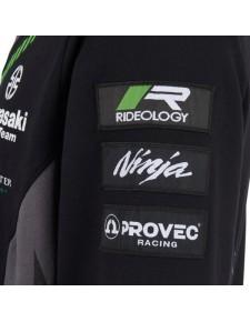 Sweat-shirt zippé homme Kawasaki Racing Team WorldSBK | Détail