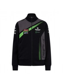 Sweat-shirt zippé femme Kawasaki Racing Team WorldSBK | Devant