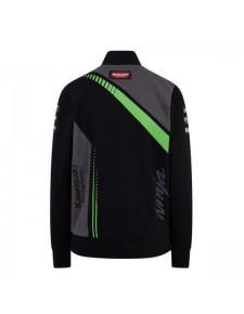 Sweat-shirt zippé femme Kawasaki Racing Team WorldSBK   Dos