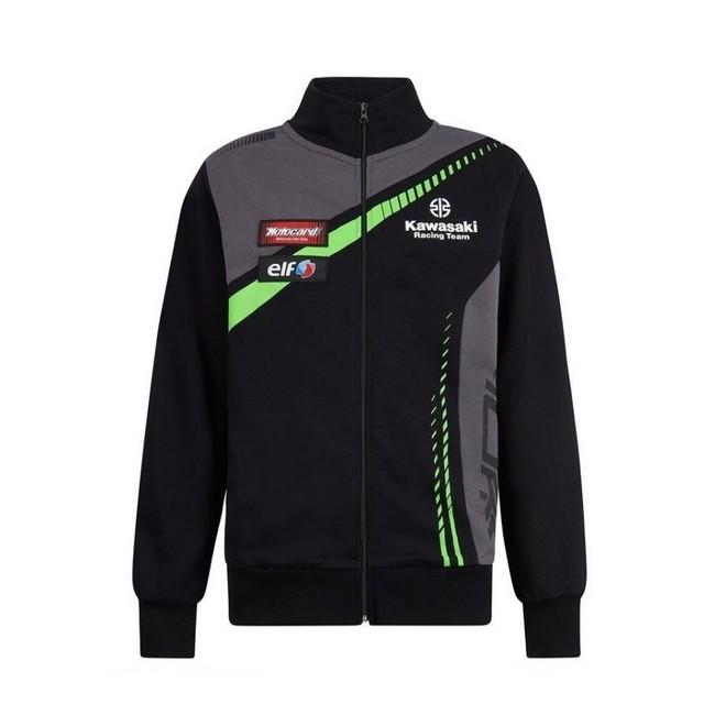 a53024c74f99e Sweat-shirt zippé junior Kawasaki Racing Team WorldSBK | Moto Shop 35
